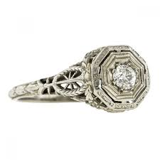filigree engagement rings doyle and doyle antique vintage and estate jewelry vintage