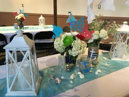 Centerpieces For Baby Shower by Nautical Baby Shower Table Decorations With Lanterns Fresh