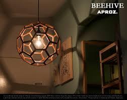Zen Ceiling Light Zen You Rakuten Global Market Beehive Wood Pendant Light And By