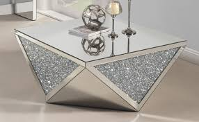 cheap mirrored coffee table mirrored coffee table with crystals