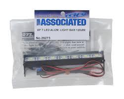 Led Vehicle Light Bar by Xp 7 Led Aluminum Light Bar Kit 120mm By Team Associated