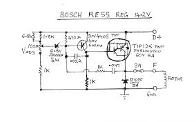 generous bosch voltage regulator wiring diagram ideas wiring