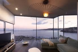 ocean view living room designed for maximum views