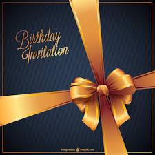 birthday invitation free vector u2013 over millions vectors stock