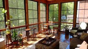 winston salem 3 season room with eze breeze windows design ideas
