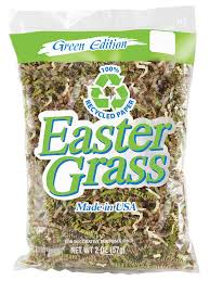 green paper easter grass camo ruffle easter grass 2 oz easter