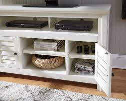 tv stand white barn door tv stand with side doors white oak