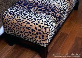 Ideas For Leopard Ottoman Design Animal Print Ottoman Coffee Table Attractive Marvelous