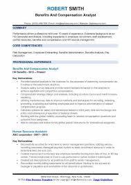resume templates administrative coordinator ii salary comparison compensation analyst resume sles qwikresume