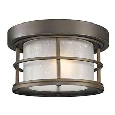 flush mount lantern light exterior ceiling light fixture wehanghere