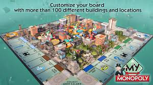 Monopoly Map Hasbro Game Channel Playstation Nation