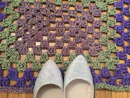 Crochet Doormat How To Crochet A Rug Step By Step A Free Pattern U0026 Tutorial