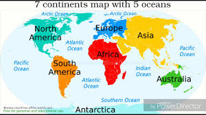North America Continent Map by Continent Clipart 5 Ocean Pencil And In Color Continent Clipart