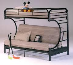 Metal Twin Futon Bunk Bed - Futon bunk bed