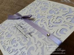 Laser Cut Invitation Cards Pocket Laser Cut Invitation With Information Wedding Cards And