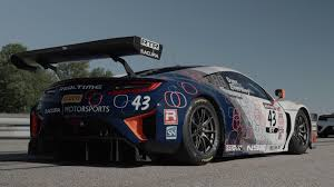 acura driving acura u0027s nsx gt3 brings our gran turismo fantasies to life