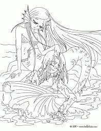 printable coloring pages of mermaids free printable coloring pages for adults mermaids many interesting