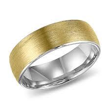e wedding bands 14k two tone gold allura millennium wedding band