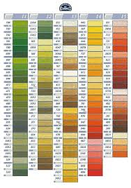 7 best dmc floss color chart and numbers chart 2 images on