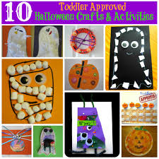 Halloween Crafts For Kindergarten Toddler Approved 10 Toddler Approved Halloween Crafts And Activities
