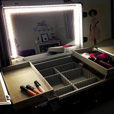 light up makeup table 50 luxury of portable makeup mirror with lights stock makeup