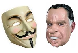 Guy Fawkes Mask Meme - before the guy fawkes mask there was latex richard nixon