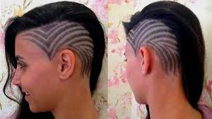 get bold look with hair designs hair tattoos for