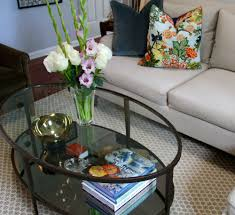 crate and barrel clairemont side table home table decoration