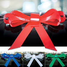 car bow ribbon car bows for the windshield