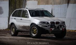 custom bmw x5 purpose built for fun tyler coey u0027s bmw x5 stance works cars