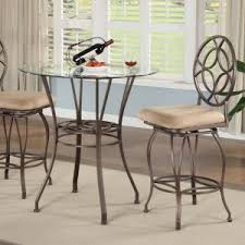 Glass Dining Room Sets by Glass Dining Room Sets On Hayneedle Glass Dining Table