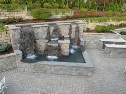 Backyard Waterfall Waterfall Designs For Your Backyard Ultimate Home Ideas