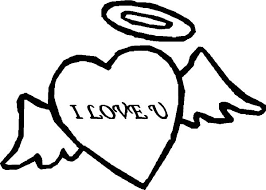 angel heart love coloring pages batch coloring