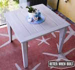 Free Woodworking Plans Patio Table by Outdoor Side Table Woodworking Plans And Information At