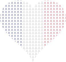 clipart heart france flag eiffel tower