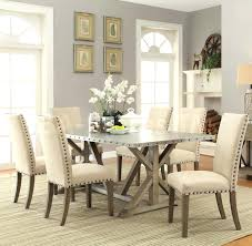 nailhead trim dining chairs chair adorable driftwood dining set upholstered chairs nailhead