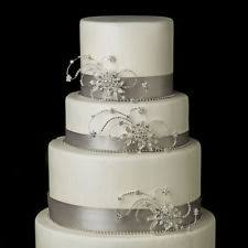 crystal glass vintage wedding cake decorations ebay