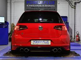 vw golf 7 r 300 hp tuned with speed buster digital module and