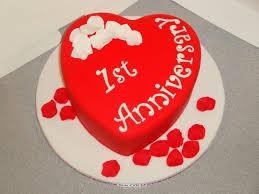 anniversary cake 1st anniversary cake cakecentral