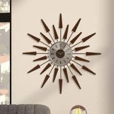 Scandinavian Wall Clock Scandinavian Wall Clocks You U0027ll Love Wayfair