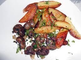 cuisiner rognon de boeuf recette de rognons de boeuf pommes de terre ail et persil