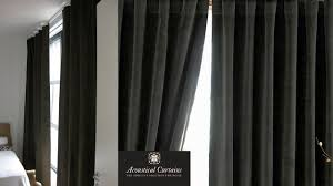 window soundproofing acoustical curtains