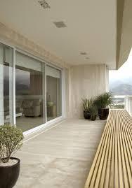 interior designs fancy modern balcony decor with wood clads wall