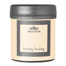 wilko emulsion paint tester pot magnolia 75ml at wilko com