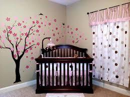 Nursery Room Tree Wall Decals Pop Decors Stickers Pop Decors Drifting Flowers And Birds Tree