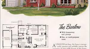 cape cod house plans 1950s 12 1950s mid century home plans mid century modern cape cod 1955