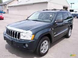 cherokee jeep 2005 2005 deep beryl green pearl jeep grand cherokee limited 4x4