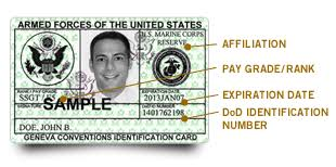 uniformed services id card