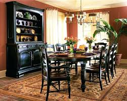 dining room sets with china cabinet chinese dining room table classic country black and wood dining room