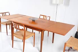 Chair Teak Dining Room Tables Table And Chairs Danish Modern Teak - Danish teak dining room table and chairs